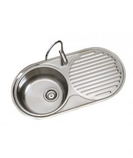 Fregadero de cocina 1 seno y escurridor