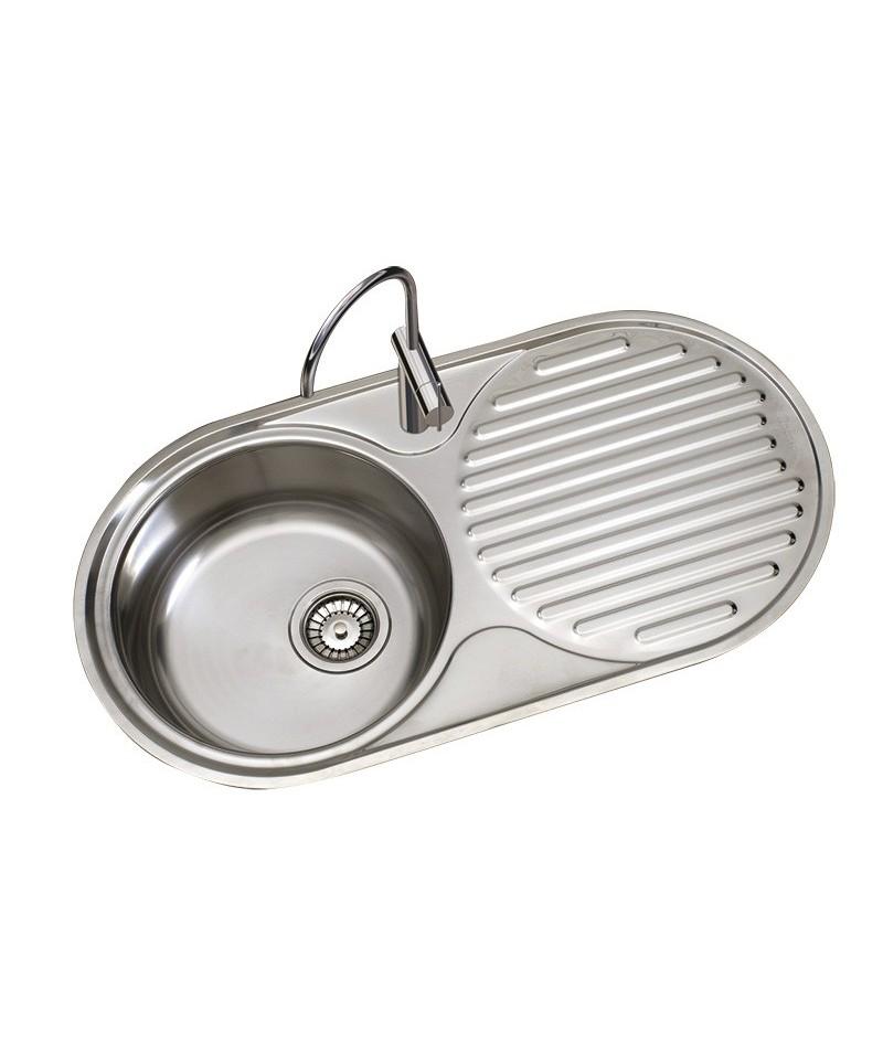 fregadero de cocina 1 seno y escurridor timblau