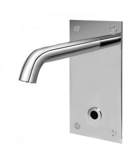 Recessed electronic tap