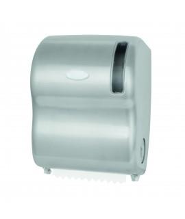Auto-cut roll paper tower dispenser