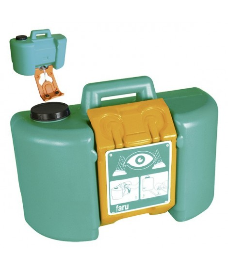 Emergency eye washer