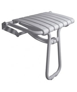 Big folding shower seat