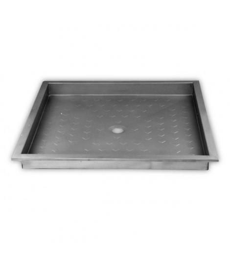 plato de ducha inox 800mm timblau