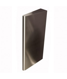 Urinal separator in stainless steel