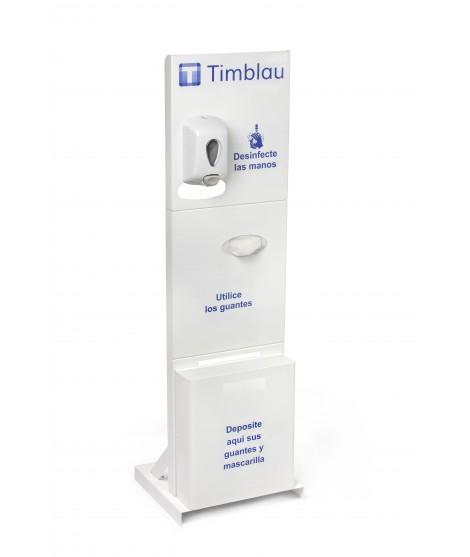 Sanitizing dispenser support