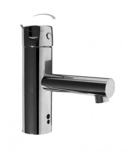 Electronic mixer tap