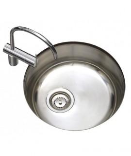 Kitchen stainless steel sink 1 sinus
